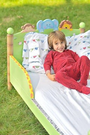 Sunny Safari Toddler's Bed (Requires Mattress)