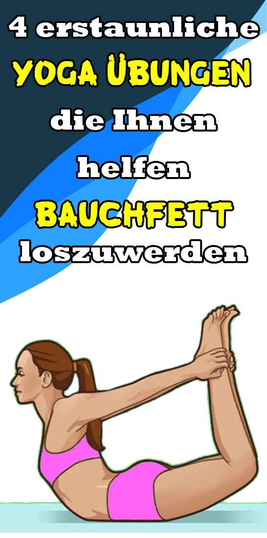 4 erstaunliche Yoga-Übungen, die Ihnen helfen, Bauchfett loszuwerden – Helene Schulze