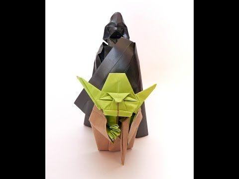 Origami Darth Vader 2.0 - YouTube