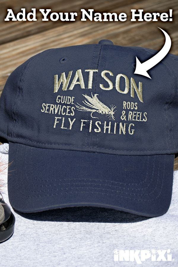 91e5fe33 Throw on your custom Fly Fishing Guide hat and be ready to lure those fish  in. The baseball style hat features a unique design and comfortable fit  when you ...