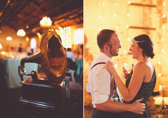 Speakeasy themed Brooklyn wedding | photo by Chris Spira Photography | 100 Layer Cake