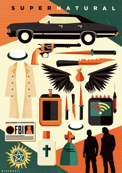 Supernatural by Risa Rodil