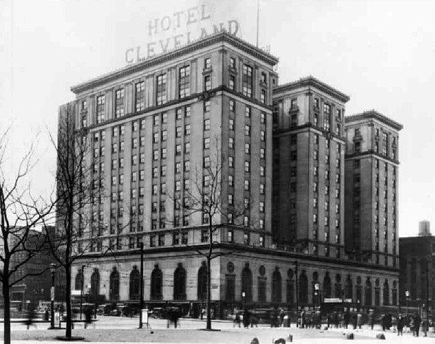 Oldest Hotel: Renaissance Cleveland Hotel (97 years old)