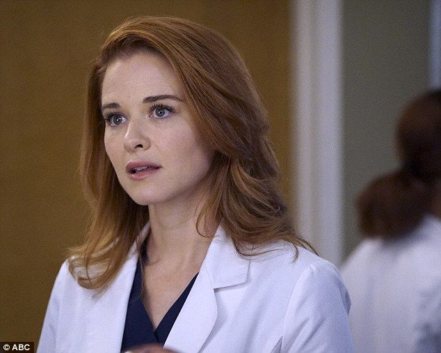 You don't say: Thursday's episode of Grey's Anatomy featured a surprising twist involving Dr. April Kepner, who's played by actress Sarah Drew.