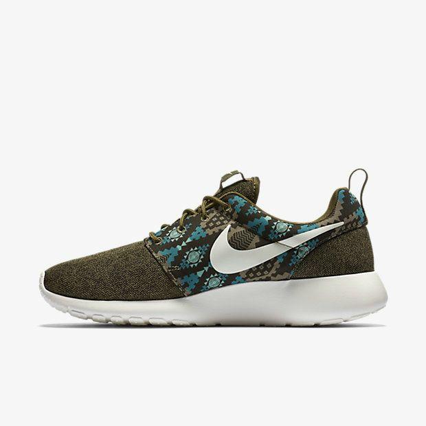 2018 Buy Nike-Roshe-Run-Print-Mens-Shoe-655206-213  90b7fb0f9ba7