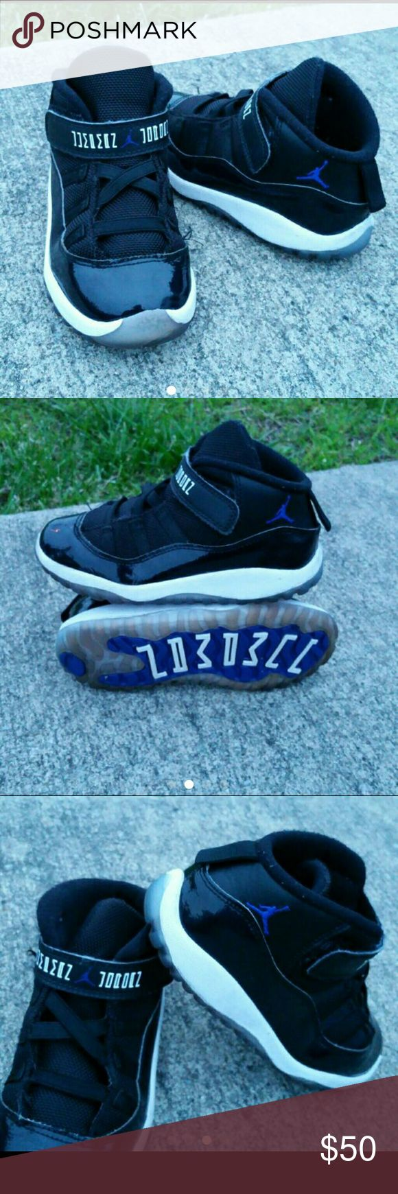 AIR JORDAN 11 RETRO KIDS SHOES VERY CLEAN INSIDE-OUT   TODDLER SIZE 10C   SKE # BV Air Jordan Shoes Sneakers