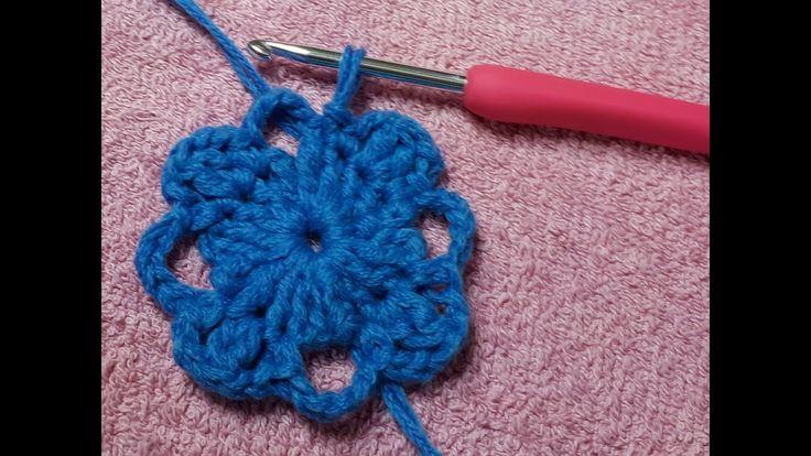 Fiore Azzurro 4 Petali