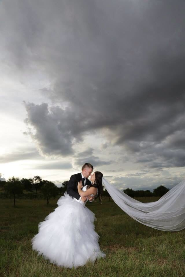Clouds, wedding photos