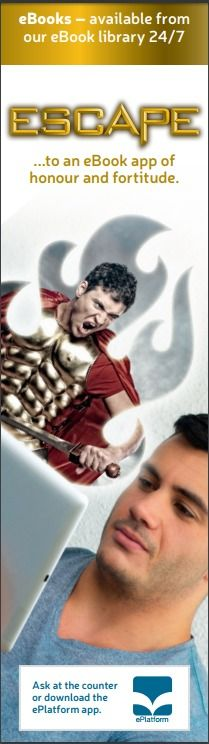 Gladiator bookmark from ePlatform Promotional Materials