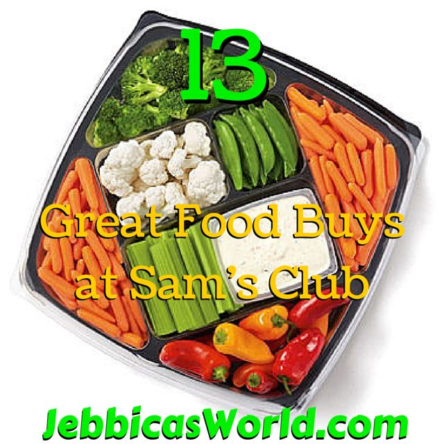 13 Great Food Buys at Sam's Club via @JebbicasWorld #samsclub #eatinghealthy #savingmoney http://jebbicasworld.com/13-great-food-sams-club/