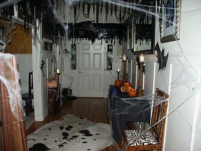 thrift store decor junky halloween birthday - Halloween Ceiling Decorations