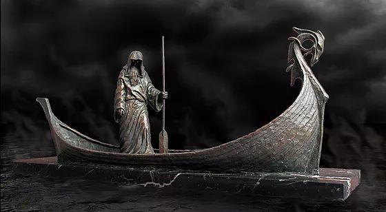 Charon, Ferryman by Deran Wright