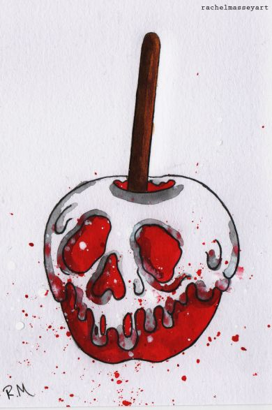 Inktober #22 | candy