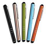 Angebot Amazon 5 Stück Premium Eingabestift Touchstift Stylus Pen für Iphone 8 7 7s 6 6s 5 6s 4 4s plus, Ipad 5 4 3 Pro…Ihr Quickberater