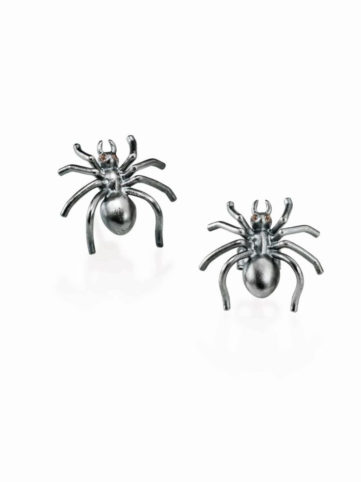 Spider earrings by BugsAndAnts on Etsy