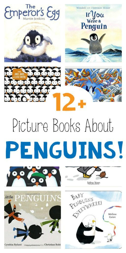 Check out some of the cutest books about penguins! Preschoolers and toddlers delight in these penguin picture books!