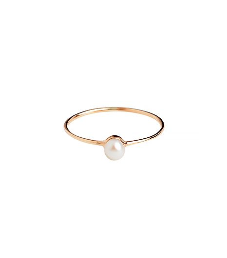 @Alexandra M What Wear - Batya Kebudi                  White Pearl Ring ($332)  This ring is subtly feminine in the best way possible.