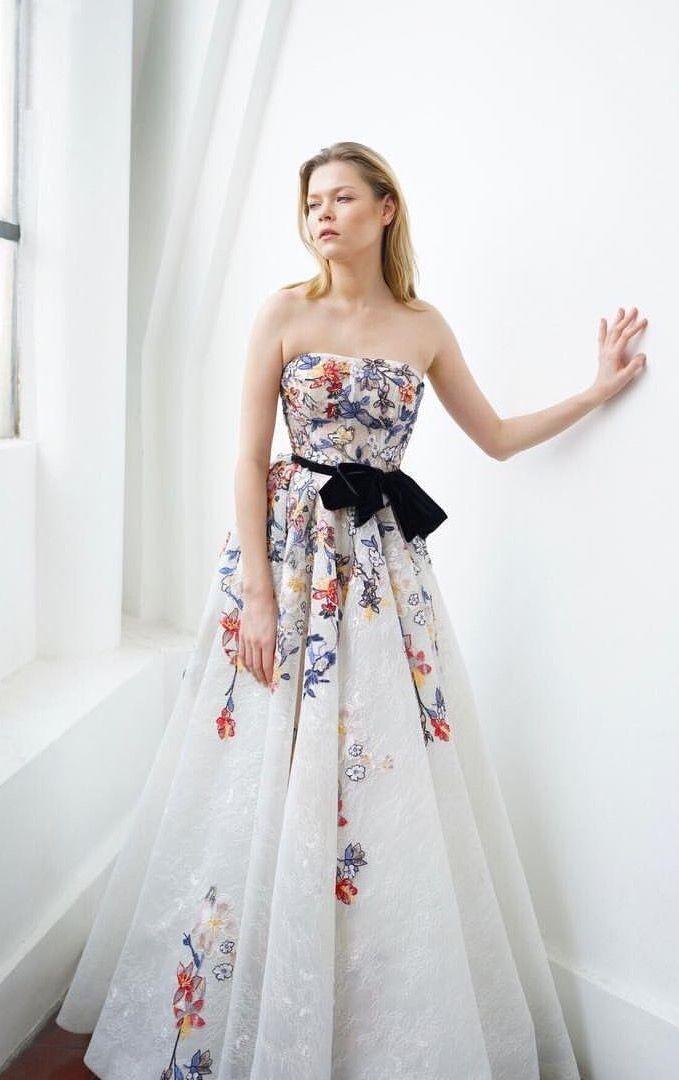 Look 7 Mark Garner Resort2018 Markgarner Lookbook Moda Altamoda Colorful Wedding Dressescolorful