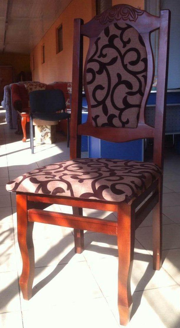 деревянный стул Сенатор мягкая спинка и сидушка мягкое сидение обивка ткань натуральное дерево деревянные стулья из дерева цена грн бесплатная доставка недорого по украине 4ugla.com.ua