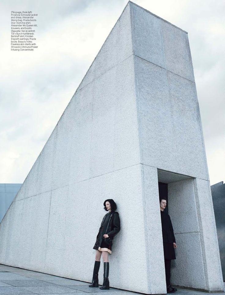 W Magazine September 2014 | Mariacarla Boscono by Emma Summerton