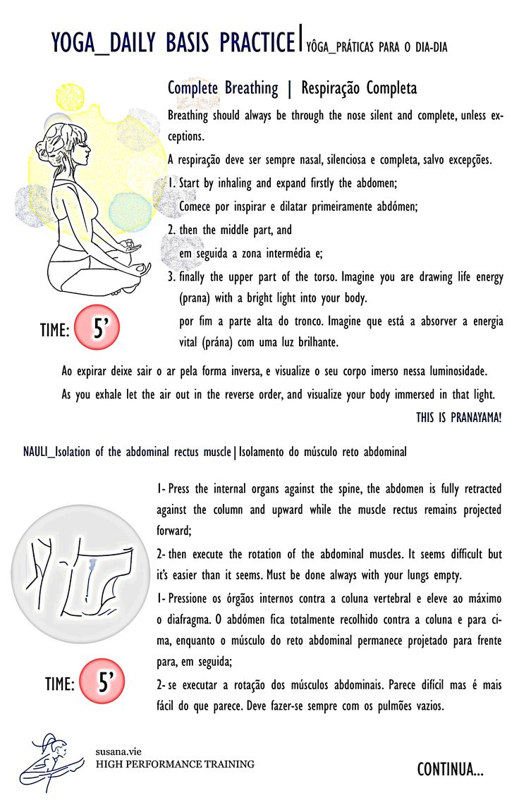 Article: YOGA_DAILY BASIS PRACTICE YÔGA_PRÁTICAS PARA O DIA-DIA | susanavie.com  #yoga #infographic #sketch #asana #pranayama
