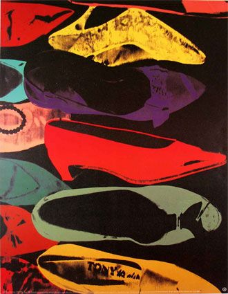 drawings andy warhol shoes | Art Shoes #4: A-Muse-ing Shoes | Shoeflyer | Shoes, Trends & Reviews