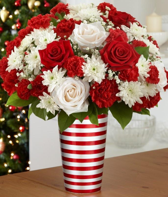 Unique Floral Design Ideas: 17 Best Ideas About Christmas Floral Arrangements On