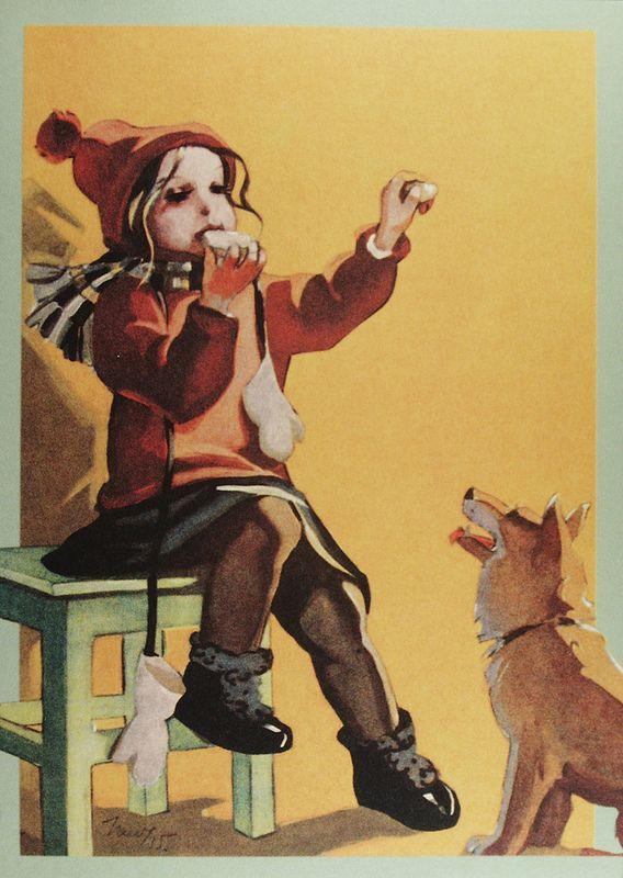 Martta Wendelin (1893- 1986) | par caijsa's postcards