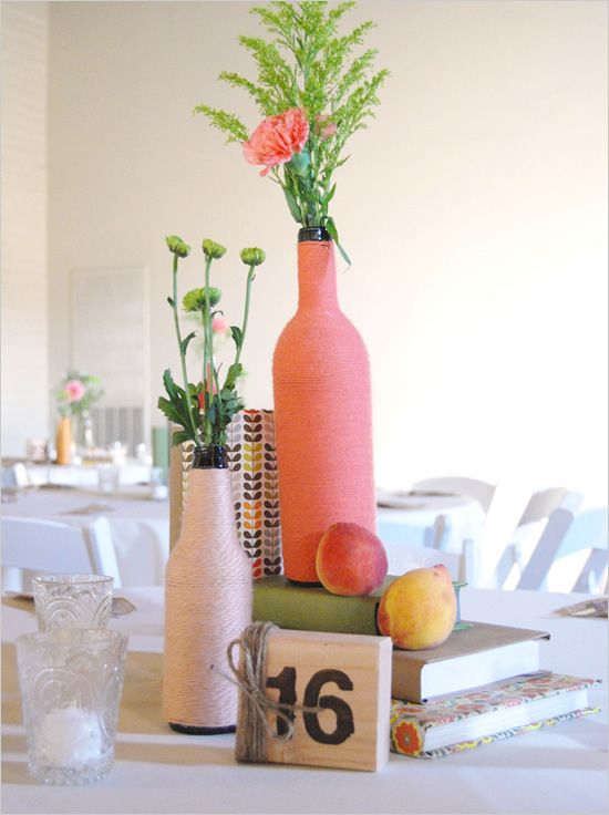 wine bottle decorations for wedding upcycled wine bottle ideas a collection of ideas to try 1429