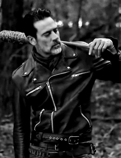 Jeffrey Dean Morgan #Negan kill stare