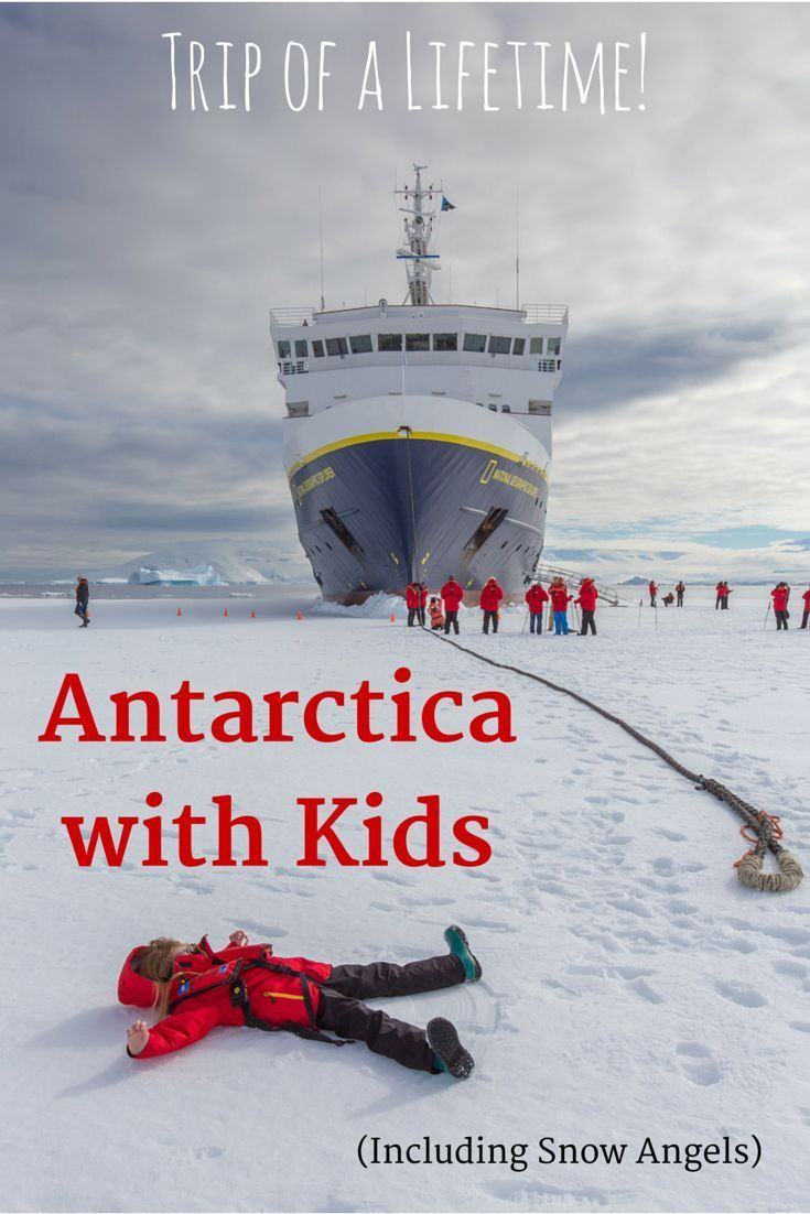 Antarctica with kids? Yes! It's one of the kid-friendliest places we've been - a virtual winter wonderland. My 8-year-old had an amazing time. I did too!