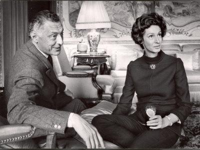 Gianni y Marella Agnelli