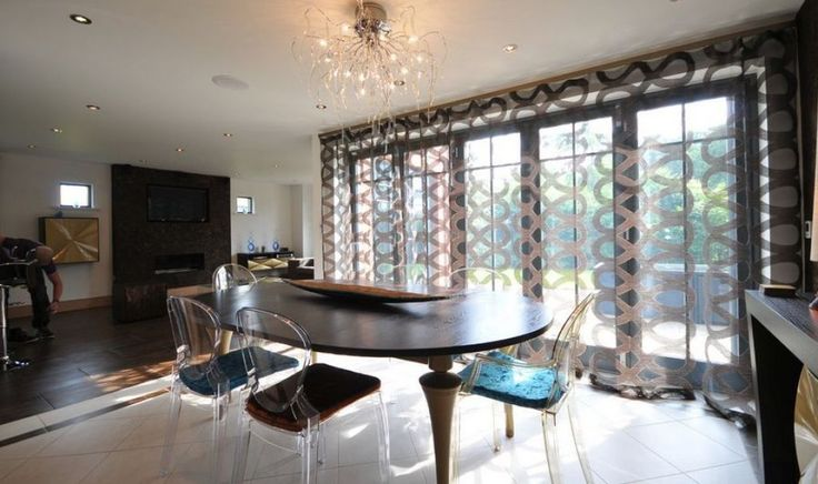 Contemporary Dining Room With Acrylic Chairs Featured Chair Pads Fancy Chair Pads For Dining Room