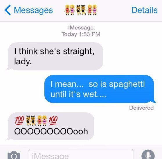 When you're crushing on your definitely, totally straight barista: | 16 Texts That Hit Too Close To Home For Lesbians