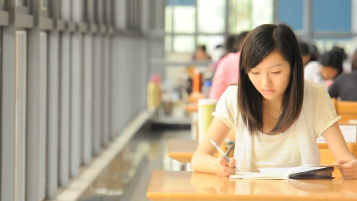Image result for asian study hard