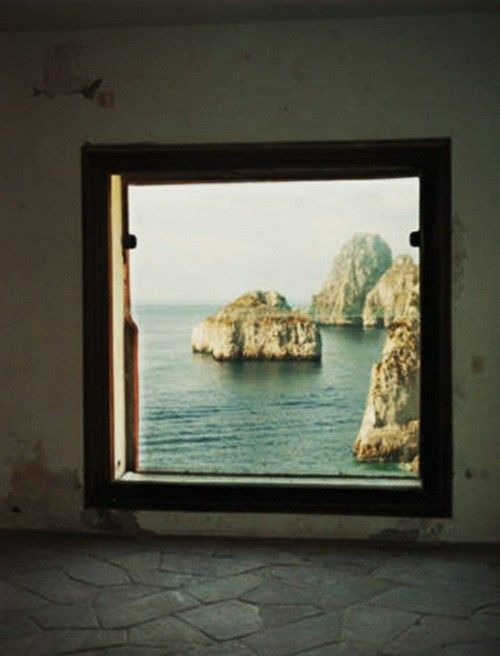 : Window View, Bedrooms Window, The View, Windowview, Isle Of Capri, Pictures Frames, Capri Italy, Italy Vacations, Bathroom Window