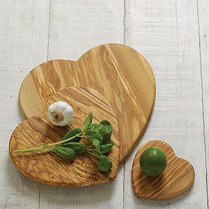 Heart Cutting Board - kitchen