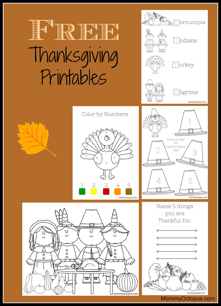 502 Best Images About Kinder Thanksgiving Fun On Pinterest