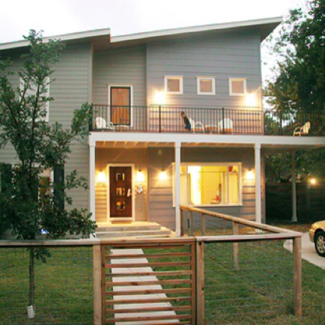 Second Floor Deck Ideas: A Narrow Deck Off Our Upstairs Living Room Would Be A Nice