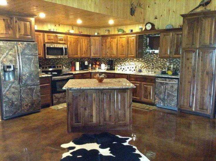 Realtree Camo Kitchen Interiors