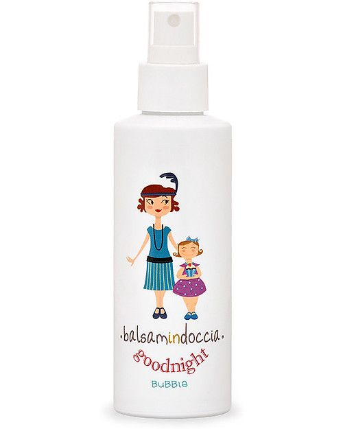 Bubble&CO Balsamo per il Corpo Balsamindoccia, 150 ml – Detergente e idratante 2-in1! unisex