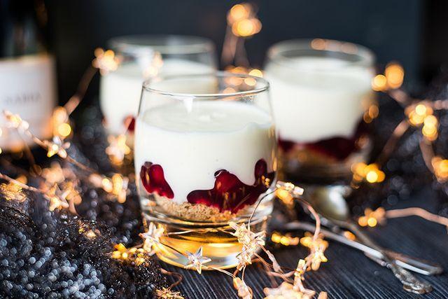 Champagnecheesecake potjes | Ohmyfoodness | Bloglovin'