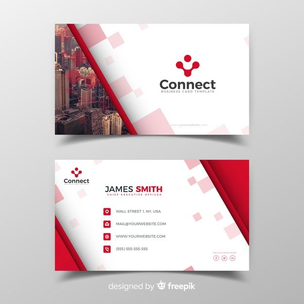 Download Business Card Template For Free Plantillas De Tarjetas