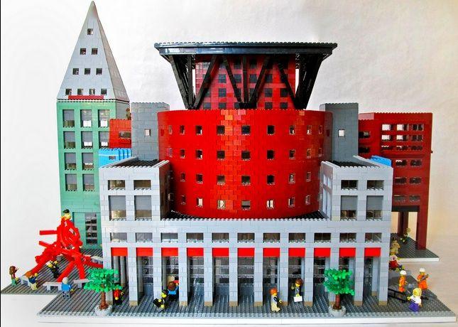 Denver Public Library in LEGO