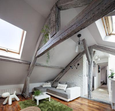 Le projet : Rénovation complète d'un appartement 2 pièces sous combles à Ivry-sur-Seine (94).