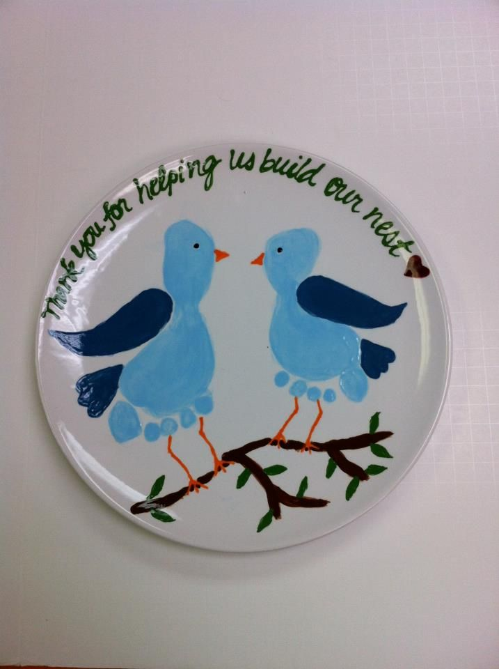 397 best hand and footprint ideas images on pinterest for Handprint ceramic plate ideas