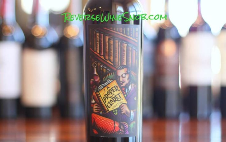 Reverse Wine Snob reviews the Bonny Doon Vineyard A Proper Claret, a properly tart and tasty Cab based blend. Cabernet Sauvignon, Petit Verdot, Tannat, Syrah, Merlot, Cabernet Franc and Petite Sirah from California. Highly Recommended.