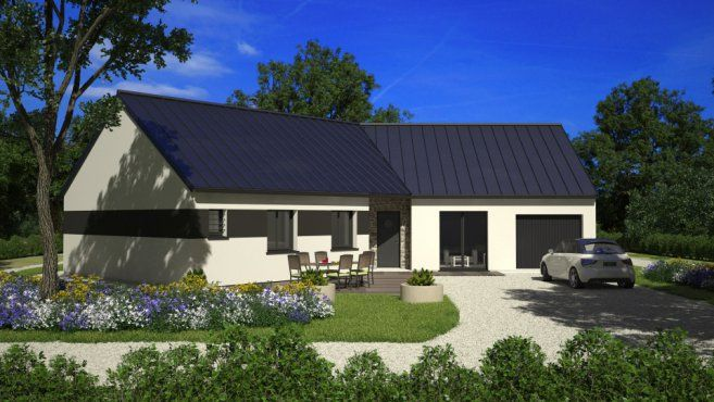 1000 images about nouveau projet plain pied on pinterest for Achat maison neuve 33000