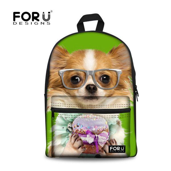 New Stylish 3D Flower Print School Bags For Girls Designer Teenage Floral Schoolbag Casual Children Bookbag Women Backbag Retail