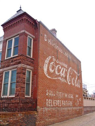 Cocoa Cola on building Theresa Hampton THANK YOU FOR A GREAT PICTURE!!!!!!!